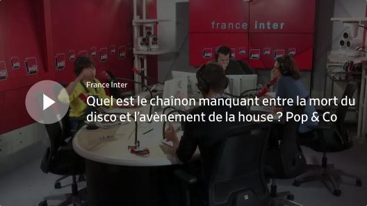 Rebecca Manzoni dans Pop & Co sur France Inter au sujet de High energy d'Olivier Monssens - première mondiale pour la soirée d'ouverture de FAME 2019, le 14 février 2019