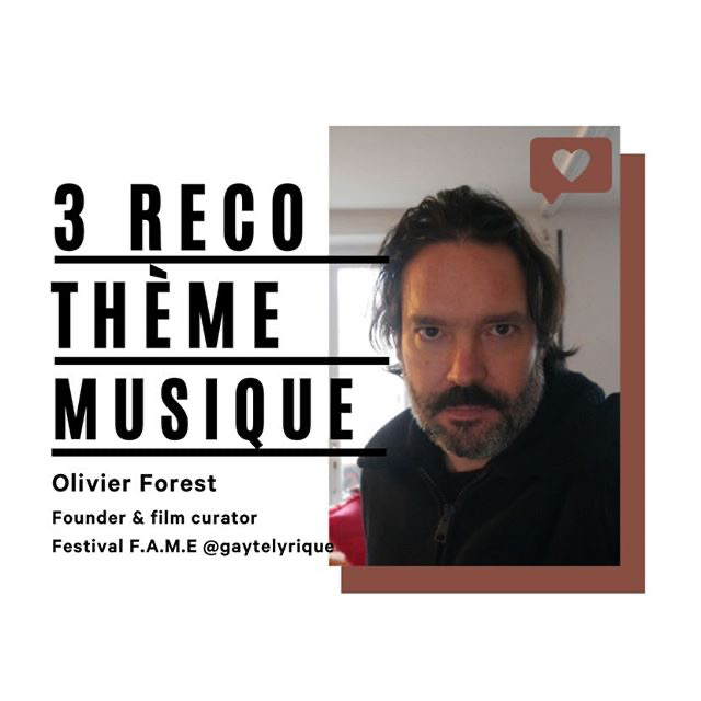 Olivier Forest - 3 recommandations pour SNOOP FRANCE